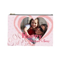 Mothers Day By Mom   Cosmetic Bag (large)   7sp6ssbvkpqp   Www Artscow Com Front