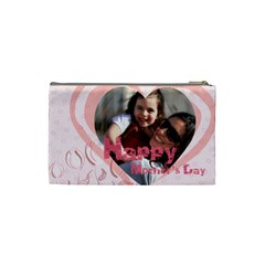 Mothers Day By Mom   Cosmetic Bag (small)   K4gc6iyuicwg   Www Artscow Com Back