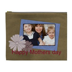 Mothers Day By Mom   Cosmetic Bag (xl)   C3j0t3ql0xsr   Www Artscow Com Front