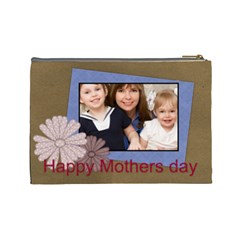 Mothers Day By Mom   Cosmetic Bag (large)   Vhzntcsaeixd   Www Artscow Com Back