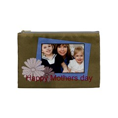 Mothers Day By Mom   Cosmetic Bag (medium)   Ni1y76yk6vz8   Www Artscow Com Front