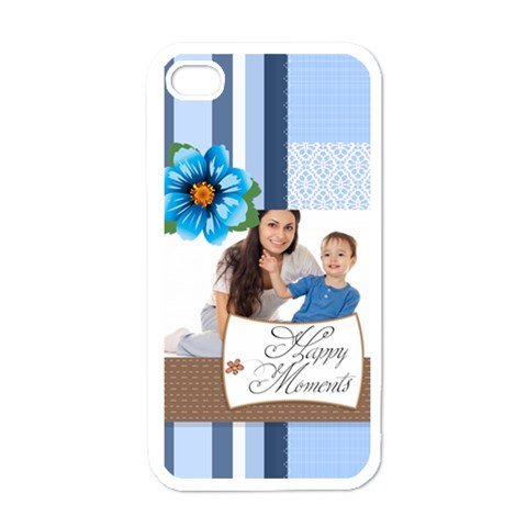 Baby By Baby   Apple Iphone 4 Case (white)   Hrhpk93pimft   Www Artscow Com Front