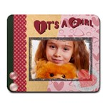 girl - Collage Mousepad