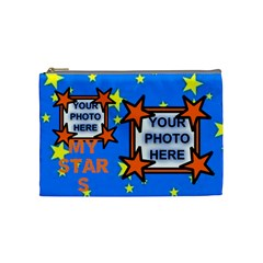 Medium Brag Cosmetic Bag By Joy Johns   Cosmetic Bag (medium)   Gvrqkrylxxdq   Www Artscow Com Front