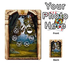 Runebound Tales   In The Wild By Fantastic Diversions / Ofgi   Multi Purpose Cards (rectangle)   L0yaqp7njdsi   Www Artscow Com Back 6