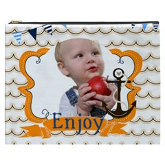 Summer Of Kids By Mac Book   Cosmetic Bag (xxxl)   Uiptxdq2trzz   Www Artscow Com Front