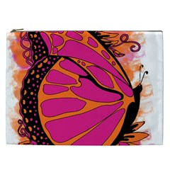 Pink Butter T Copy Cosmetic Bag (xxl)