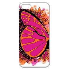 Pink Butter T Copy Apple Seamless Iphone 5 Case (clear)
