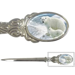 Polar Bears Mothers Love Letter Opener by FeaturedDesigns