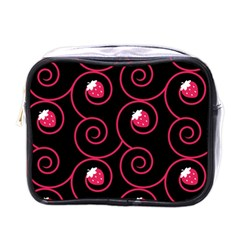 20130503 Oriental Black Single Sided Cosmetic Case by strawberrymilk