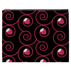 20130503 Oriental Black Cosmetic Bag (xxxl) by strawberrymilk