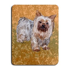 Yorkie  Small Mousepad by dogdaze