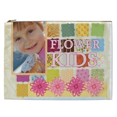 Flower Kids By Jo Jo   Cosmetic Bag (xxl)   348d3ndsiac9   Www Artscow Com Front
