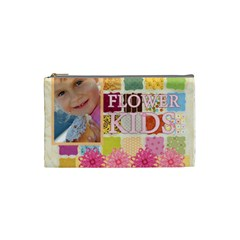 Flower Kids By Jo Jo   Cosmetic Bag (small)   46sko3z5wjbj   Www Artscow Com Front