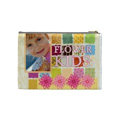 Flower Kids By Jo Jo   Cosmetic Bag (medium)   Ne1b3t9a542p   Www Artscow Com Back