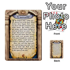 Cities Of Adventure: Reference Cards By Fantastic Diversions / Ofgi   Multi Purpose Cards (rectangle)   R4p0zmf66r2a   Www Artscow Com Back 7