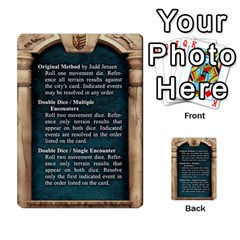 Cities Of Adventure: Reference Cards By Fantastic Diversions / Ofgi   Multi Purpose Cards (rectangle)   R4p0zmf66r2a   Www Artscow Com Front 9
