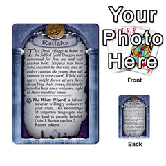 Cities Of Adventure: Reference Cards By Fantastic Diversions / Ofgi   Multi Purpose Cards (rectangle)   R4p0zmf66r2a   Www Artscow Com Back 13