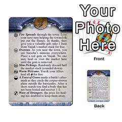 Cities Of Adventure: Reference Cards By Fantastic Diversions / Ofgi   Multi Purpose Cards (rectangle)   R4p0zmf66r2a   Www Artscow Com Front 16