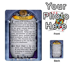 Cities Of Adventure: Reference Cards By Fantastic Diversions / Ofgi   Multi Purpose Cards (rectangle)   R4p0zmf66r2a   Www Artscow Com Back 17