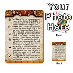 Cities Of Adventure: Reference Cards By Fantastic Diversions / Ofgi   Multi Purpose Cards (rectangle)   R4p0zmf66r2a   Www Artscow Com Front 28