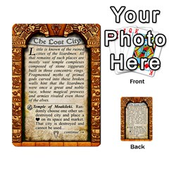 Cities Of Adventure: Reference Cards By Fantastic Diversions / Ofgi   Multi Purpose Cards (rectangle)   R4p0zmf66r2a   Www Artscow Com Back 29