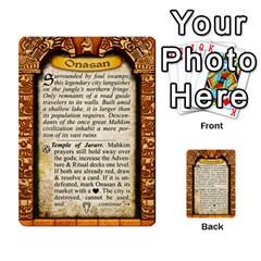 Cities Of Adventure: Reference Cards By Fantastic Diversions / Ofgi   Multi Purpose Cards (rectangle)   R4p0zmf66r2a   Www Artscow Com Back 30