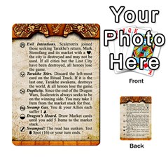 Cities Of Adventure: Reference Cards By Fantastic Diversions / Ofgi   Multi Purpose Cards (rectangle)   R4p0zmf66r2a   Www Artscow Com Front 32