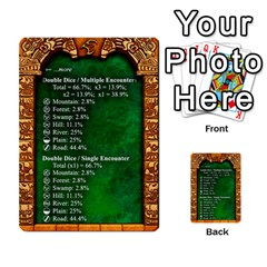 Cities Of Adventure: Reference Cards By Fantastic Diversions / Ofgi   Multi Purpose Cards (rectangle)   R4p0zmf66r2a   Www Artscow Com Front 38