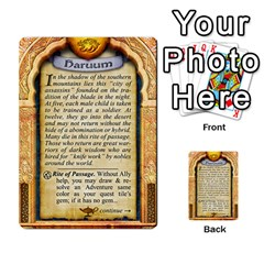 Cities Of Adventure: Reference Cards By Fantastic Diversions / Ofgi   Multi Purpose Cards (rectangle)   R4p0zmf66r2a   Www Artscow Com Back 43