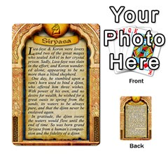 Cities Of Adventure: Reference Cards By Fantastic Diversions / Ofgi   Multi Purpose Cards (rectangle)   R4p0zmf66r2a   Www Artscow Com Back 45