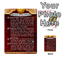 Cities Of Adventure: Reference Cards By Fantastic Diversions / Ofgi   Multi Purpose Cards (rectangle)   R4p0zmf66r2a   Www Artscow Com Back 47