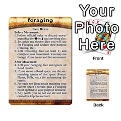 Cities Of Adventure: Reference Cards By Fantastic Diversions / Ofgi   Multi Purpose Cards (rectangle)   R4p0zmf66r2a   Www Artscow Com Back 48