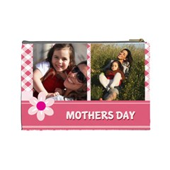 Mothers Day By Mom   Cosmetic Bag (large)   K4forlcjhdtu   Www Artscow Com Back