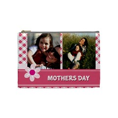 Mothers Day By Mom   Cosmetic Bag (medium)   5rbc0tkhskq0   Www Artscow Com Front