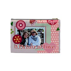 Mothers Day By Mom   Cosmetic Bag (medium)   Emmz0qh0oed0   Www Artscow Com Back