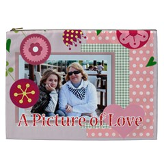 Mothers Day By Mom   Cosmetic Bag (xxl)   V68e172xofmm   Www Artscow Com Front