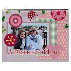Mothers Day By Mom   Cosmetic Bag (xxxl)   G3y2ozbdekod   Www Artscow Com Front