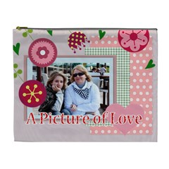 Mothers Day By Mom   Cosmetic Bag (xl)   Vj8c2gh770ef   Www Artscow Com Front