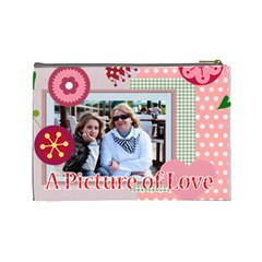 Mothers Day By Mom   Cosmetic Bag (large)   Agw02oxvbd4h   Www Artscow Com Back