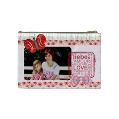 Mothers Day By Mom   Cosmetic Bag (medium)   Btixssmgcs6h   Www Artscow Com Back