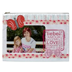 Mothers Day By Mom   Cosmetic Bag (xxl)   Jrygaaizitg9   Www Artscow Com Front
