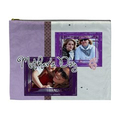Mothers Day By Mom   Cosmetic Bag (xl)   A590haeesxn4   Www Artscow Com Front