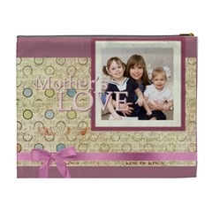 Mothers Day By Mom   Cosmetic Bag (xl)   Ic8ppgam9vxb   Www Artscow Com Back