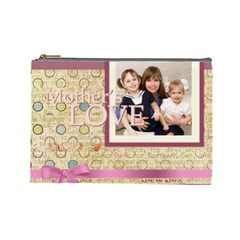 Mothers Day By Mom   Cosmetic Bag (large)   Jmjmv43yzowz   Www Artscow Com Front