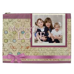 Mothers Day By Mom   Cosmetic Bag (xxl)   H4g0nuk8tmvx   Www Artscow Com Front