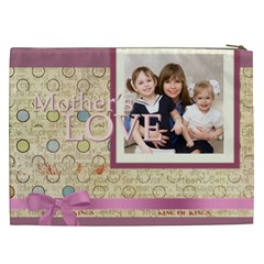 Mothers Day By Mom   Cosmetic Bag (xxl)   H4g0nuk8tmvx   Www Artscow Com Back