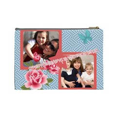 Mothers Day By Mom   Cosmetic Bag (large)   Drwoar0a9hwi   Www Artscow Com Back