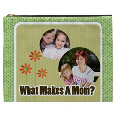Mothers Day By Mom   Cosmetic Bag (xxxl)   Kna10hn5e2kp   Www Artscow Com Front