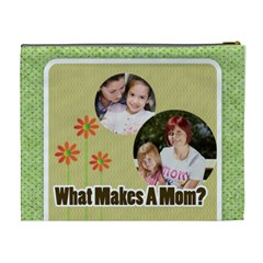 Mothers Day By Mom   Cosmetic Bag (xl)   89jtyz04pvjg   Www Artscow Com Back